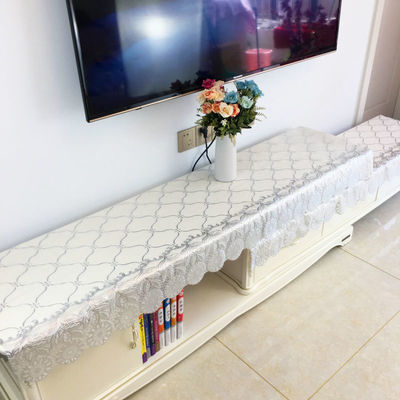 电视柜台布电视柜的桌布茶几桌布床头柜罩鞋柜盖布防水餐桌布塑料