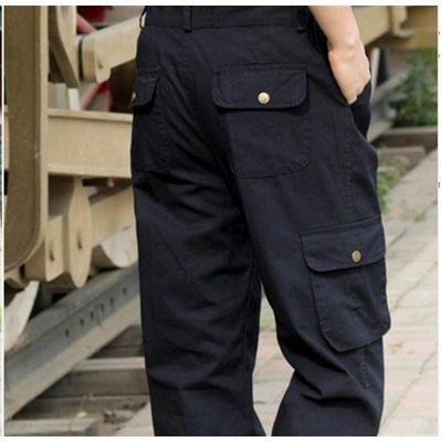 盾冬季加绒男裤休闲宽松多袋裤工装透气户外速干防水冲锋裤