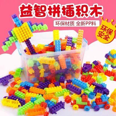 新款儿童积木益智玩具拼装大号颗粒创意塑料彩色男孩女孩早教智力