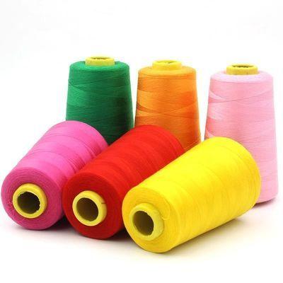 。结实紫色车平车线细电缝棉线细线老式套装线手缝纫机绣花服装