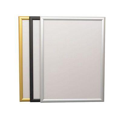热销前开启式铝合金海报框定做电梯广告框架营业执照框大相框挂墙