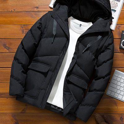 反季秋冬季厚外套棉衣男士韩版棉袄短款羽绒棉服加厚面包服潮男装