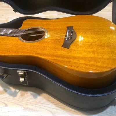 4000的全单吉他桃花芯民谣吉他41寸36寸全单板初学者新手入门吉他