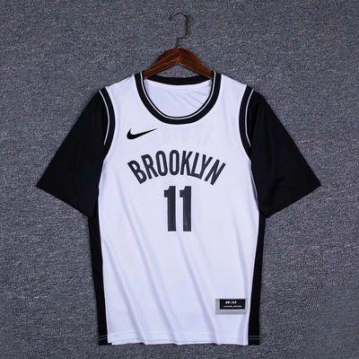 新款NBA詹姆斯球衣男女短袖23号湖人假两件库里t恤篮网欧文11号篮