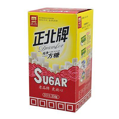 正北牌 正北方糖 350g 咖啡伴侣 太纯净古半方糖 方糖 超市同款糖