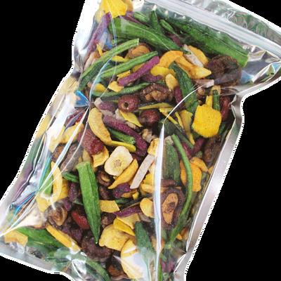 综合果蔬干混合装500g香菇秋葵干果蔬脆脱水蔬菜即食儿童零食250g