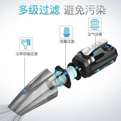 车载吸尘器充气泵汽车打气泵家用车用干湿两用多功能大功率四合一