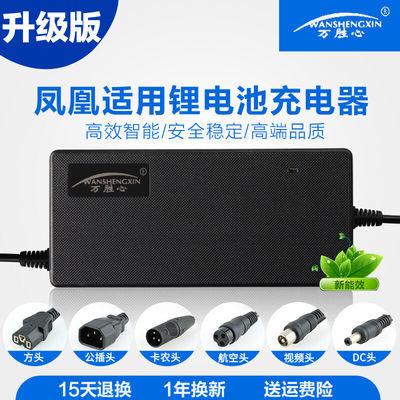 凤凰锂离子电池电动车自行车充电器24V36V48V10AH 42