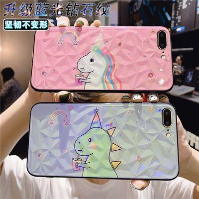 华为nova5/4e钻石纹手机壳荣耀8x/9x/v20/10蓝光畅享9/10s/mate30