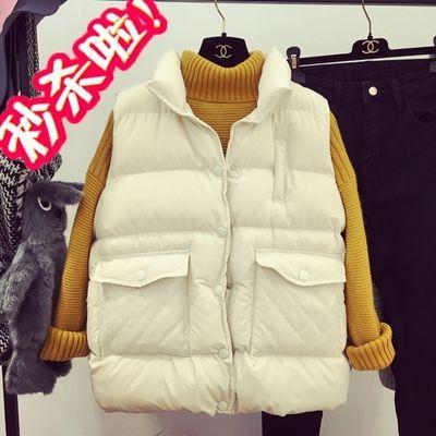 迷彩棉马甲女冬季学生韩版外穿中长款羽绒棉保暖无袖棉衣背心外套