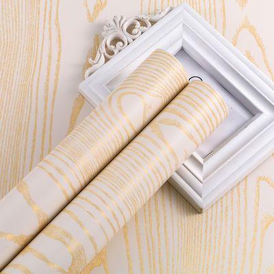 家具翻新衣柜橱柜宿舍桌子桌面防水木纹贴纸壁纸墙纸自粘卧室装饰