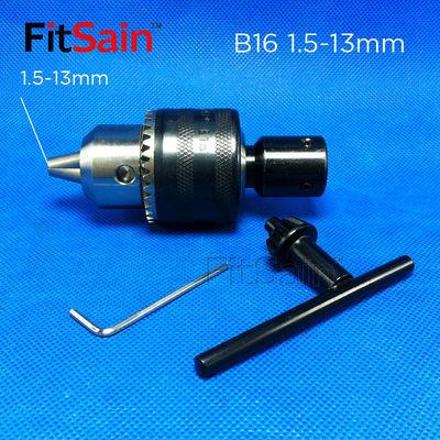 FitSain-B16钻夹头1.5-13mm电机轴连接杆轴套电钻台钻转换杆