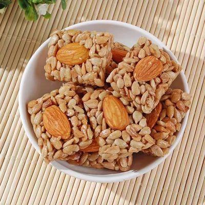 巴旦木蜂蜜瓜子仁原味60包30包10包坚果炒货