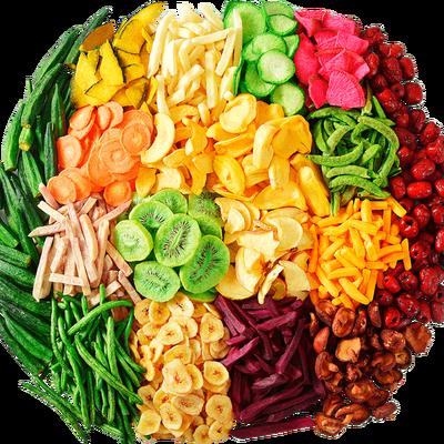 俏美味臻享18种果蔬脆片综合蔬菜干什锦蔬果干健康儿童零食多规格