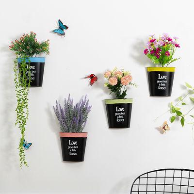 创意铁艺墙面墙上装饰品花餐厅卧室客厅墙壁装饰挂件阳台壁挂花篮