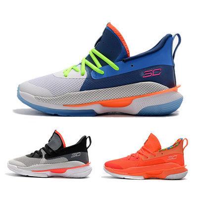 库里7代篮球鞋男子实战运动鞋UA Curry 7低帮耐磨防滑战靴训练鞋