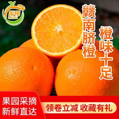 【精品脐橙】正宗赣南脐橙新鲜水果江西橙子甜脐橙鲜2斤5斤10斤装