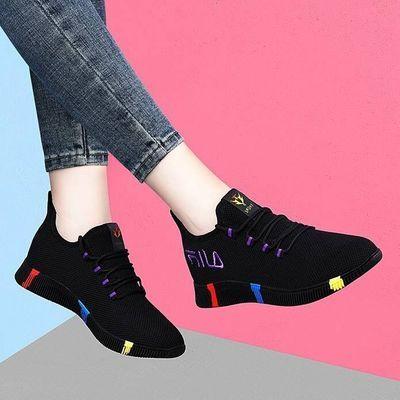 2020春秋新款女鞋网鞋女士透气轻便鞋子夏季运动鞋女跑步鞋休闲鞋
