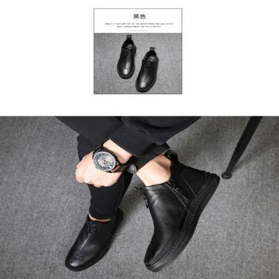 苍南凯蒂电子商务有限公司意祥睿工厂直销秋冬爆款潮流男靴HM1891