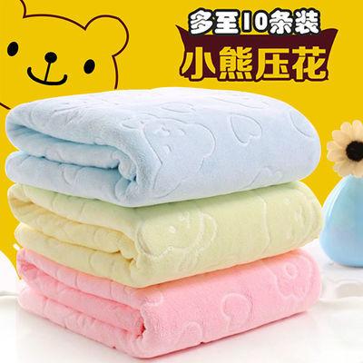 批发3-10条大毛巾洗脸巾家用成人洗澡柔软吸水儿童1条并非是纯棉