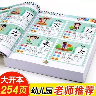 学前识字书儿童看图识字大王大班幼儿园教材认字书籍宝宝早教图书