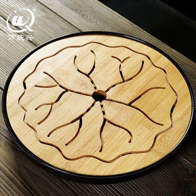 密胺茶盘中式家用竹托盘功夫茶具套装方形简约实木干泡迷你小茶台