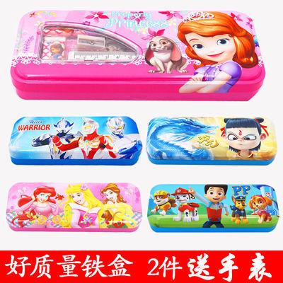 卡通儿童文具盒男女简约可爱笔盒小孩学生铅笔盒幼儿园文具盒笔袋