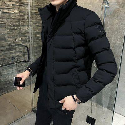 棉衣男士外套冬季2019新款韩版潮流羽绒秋冬棉服加绒加厚棉袄男装