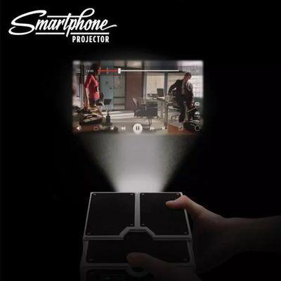 投影仪99块家用手机家庭影院投墙迷你超高清微型抖音无线投影机