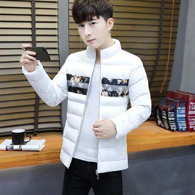 新款冬季棉衣男韩版修身羽绒棉服短款潮流男装棉袄子帅气学生外套