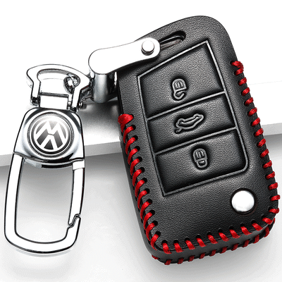 2019款大众途铠钥匙套真皮专用大众途铠钥匙包大众tcross钥匙套扣