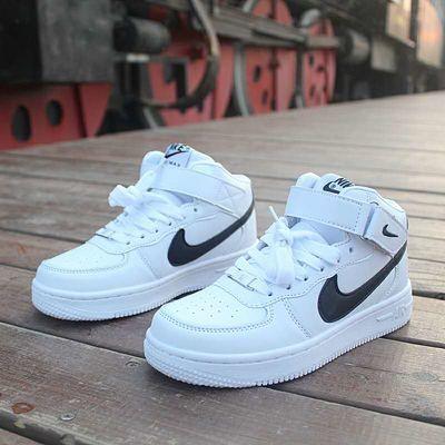 空军一号高低帮情侣运动鞋aj乔1男女篮球鞋AJ学生街舞红脚趾板鞋