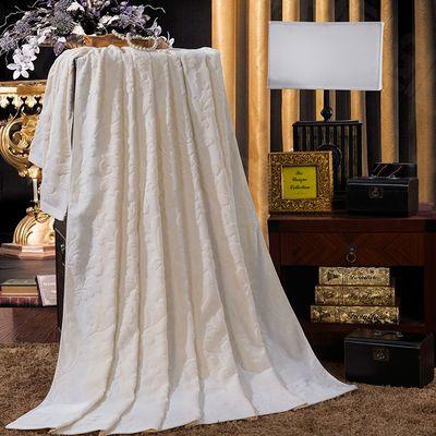 新品100%纯棉毛巾被经典怀旧老式双面毛圈四季毯单人双人全棉午