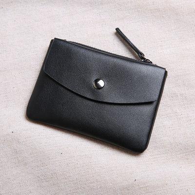 真皮迷你小钱包零钱袋女短款韩版超薄小卡包男牛皮学生零钱包