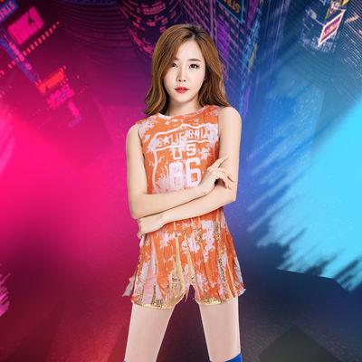 韩国女子组合舞蹈亮片啦啦队服装新款组合舞ds演出服装