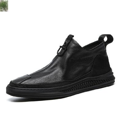 大红鹰Bbadboy英范秋冬新款潮流男靴-HM9601皮鞋靴子工厂直销0974