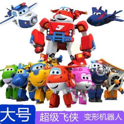 超级飞侠玩具套装全套14只大号乐迪多多小爱可变形机器人儿童玩具