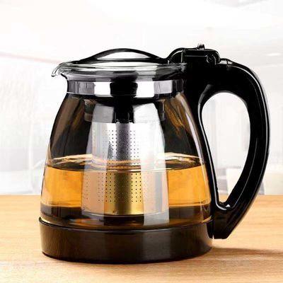 【开水冲破包赔】1000/2000ML茶壶茶具套装 水壶玻璃大容量泡茶壶【3月18日发完】