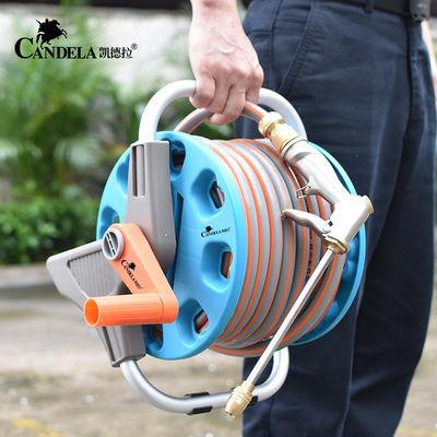 家用洗车水枪水管软管收纳滑轮架自来水刷车水枪手提套装洗车神器
