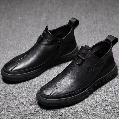 大红鹰BADBOY[工厂直销】秋冬新款潮流男靴-HM9601