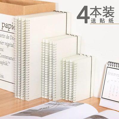 【送贴纸】简约线圈方格本手帐本空白计划本网格本笔记本子A5B5A
