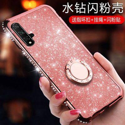 华为nova5pro手机壳nowa5保护nove5i硅胶套闪钻5ipor防摔SPN-AL00