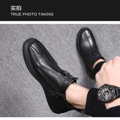 欧海帝犀鞋业BADBOY工厂直销秋冬新款潮流男靴-HM9601