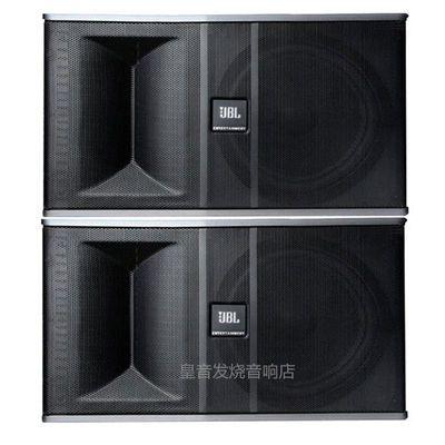 美国进口原装JBLKI82家庭KTV音箱12寸重低音会议室卡拉OK舞台音响【3月12日发完】
