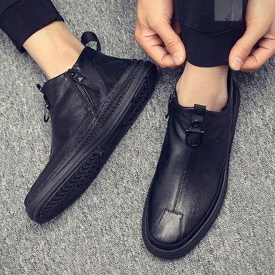 意祥睿男皮鞋BADBOY秋冬新款潮流男靴HM1891腾顺艾米康休闲鞋9601