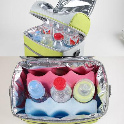 新款【升级版送餐具3件套】A032保温包背奶包保温袋母乳保鲜包饭
