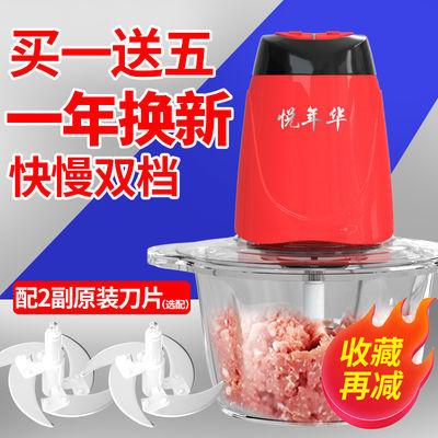 电动绞肉机家用多功能料理机搅拌机搅馅绞馅机蒜泥器辣椒粉碎机