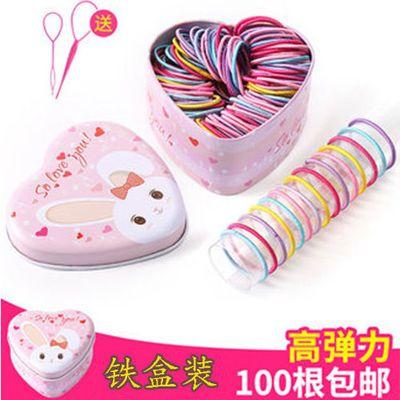不伤发儿童皮筋韩国橡皮筋发绳女孩扎头发圈头绳头饰发饰品