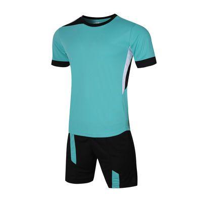 夏季男装速干吸汗运动服男健身跑步衣训练服短袖短裤休闲两件套装