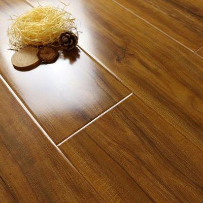 强化复合木地板家用12mm环保E0地暖防水浮雕地暖厂家直销